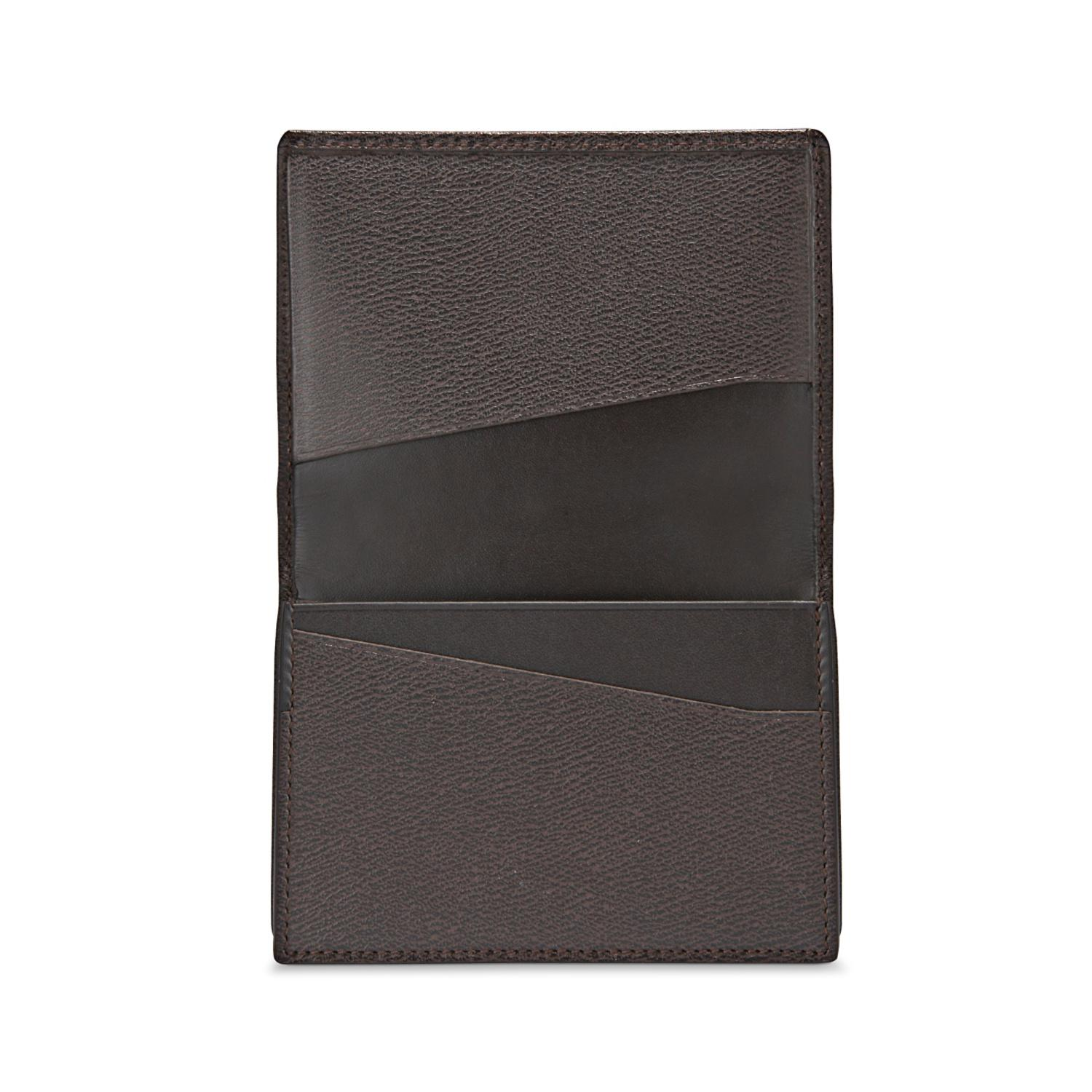 Lyst smythson business card case in brown for men view fullscreen colourmoves