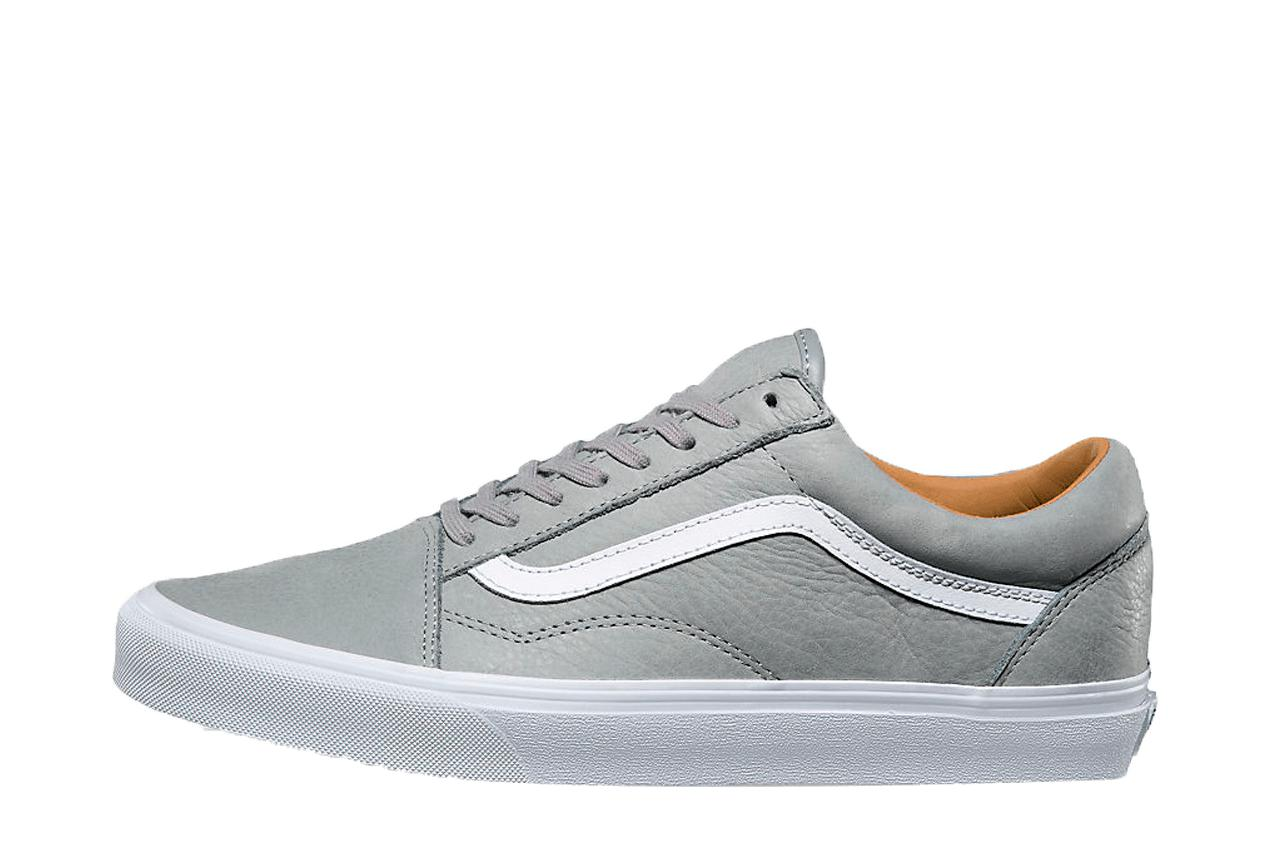 ebfb86a2b25625 Vans Old Skool Premium Leather for Men - Lyst
