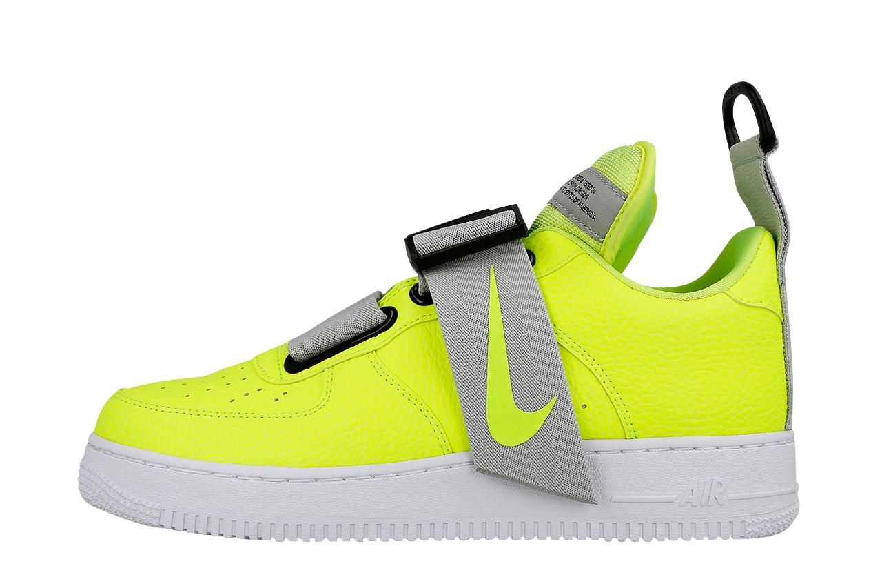 65b65f7bd0c Lyst - Nike Air Force 1 Utility in Yellow for Men