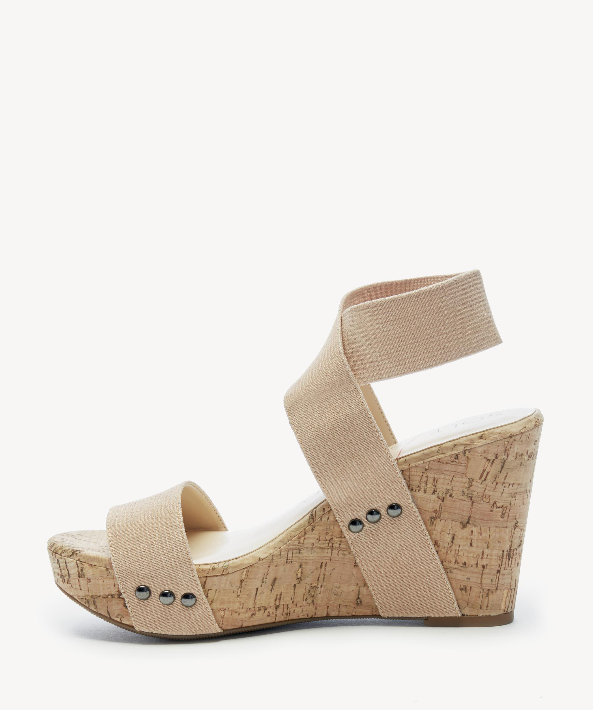 6eb65a5d3d Sole Society - Multicolor Analisa Cork Wedge Sandals - Lyst. View fullscreen