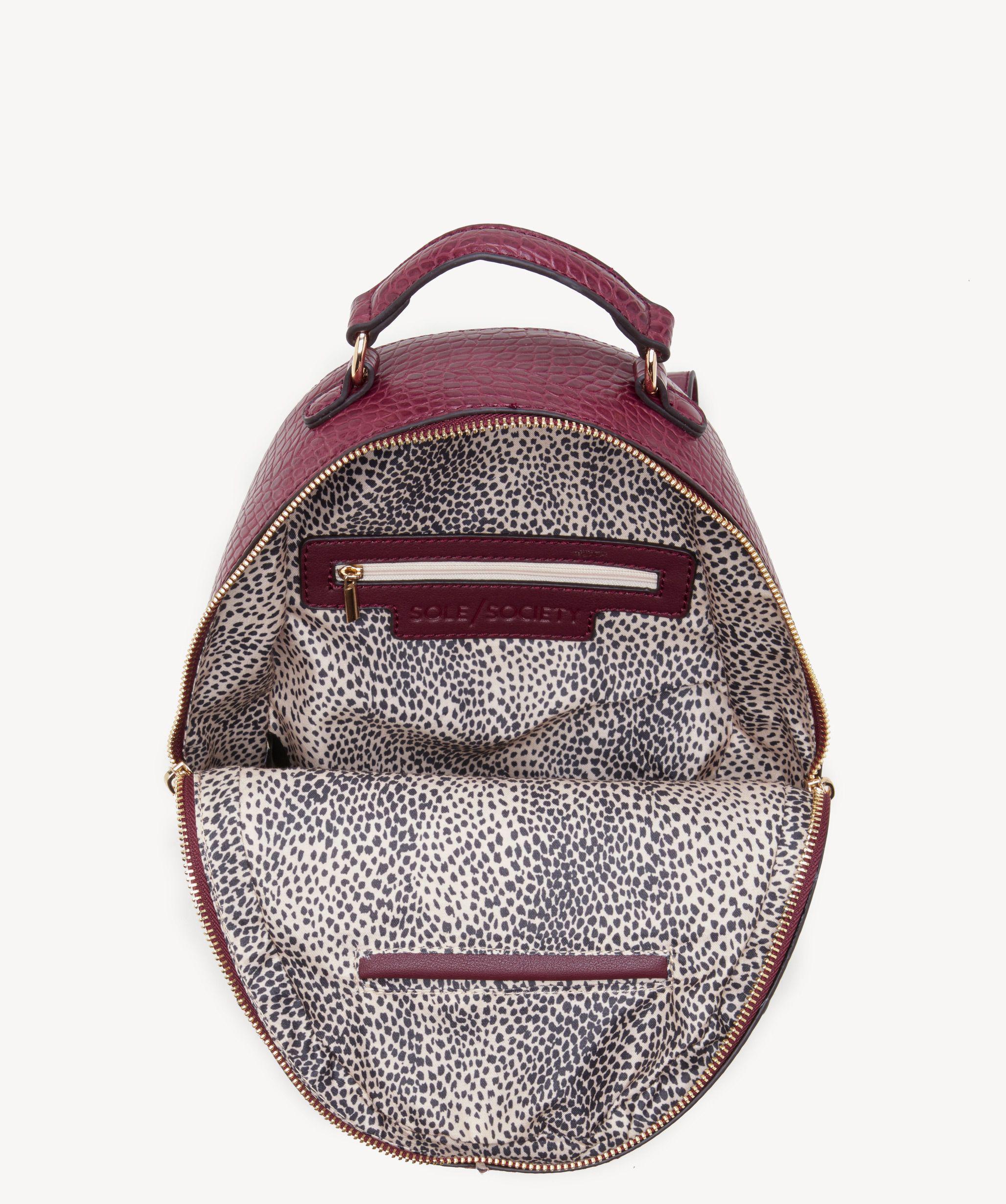 8f5da9b542 Lyst - Sole Society Jamya Backpack Vegan Backpack