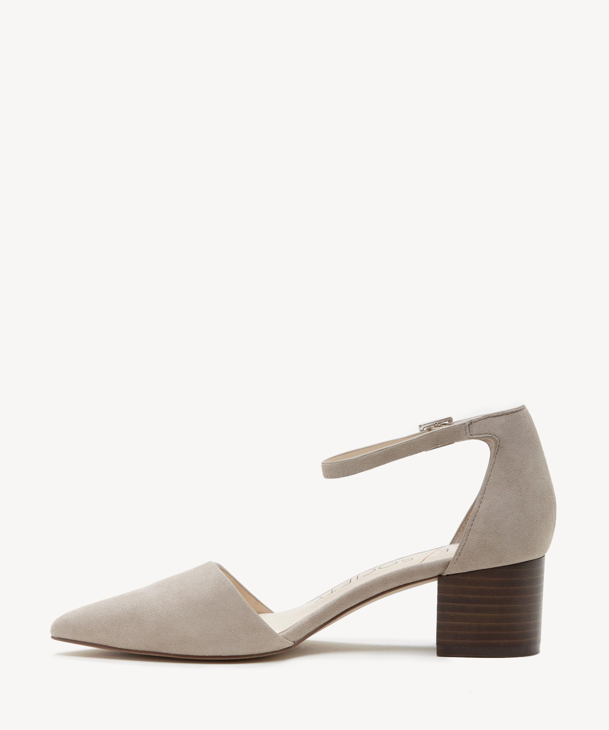 1a85fd9a061 Lyst - Sole Society Katarina Two Piece Block Heel Pump