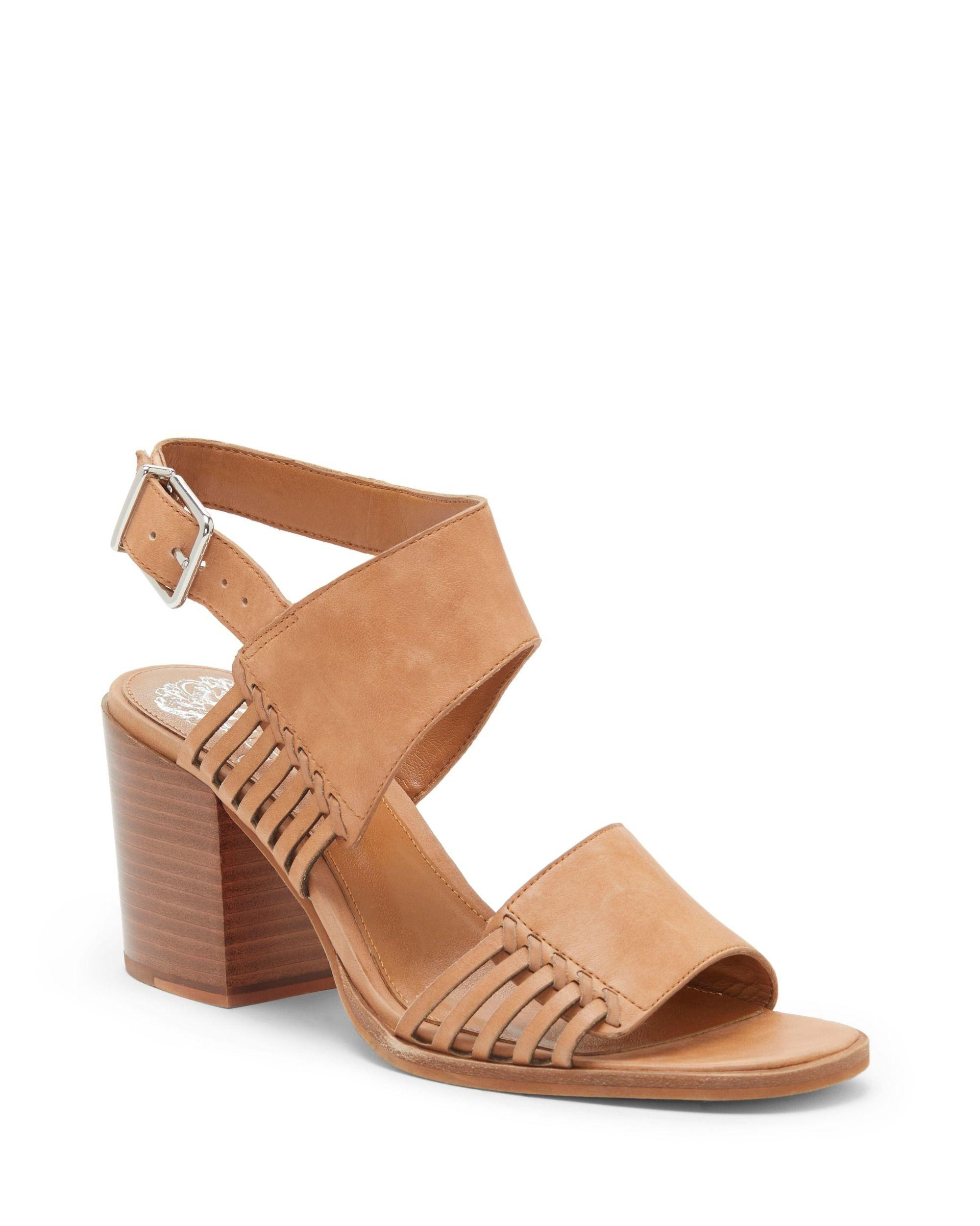 9f15f780c752 Lyst - Vince Camuto Karmelo Double Strap Sandal in Brown