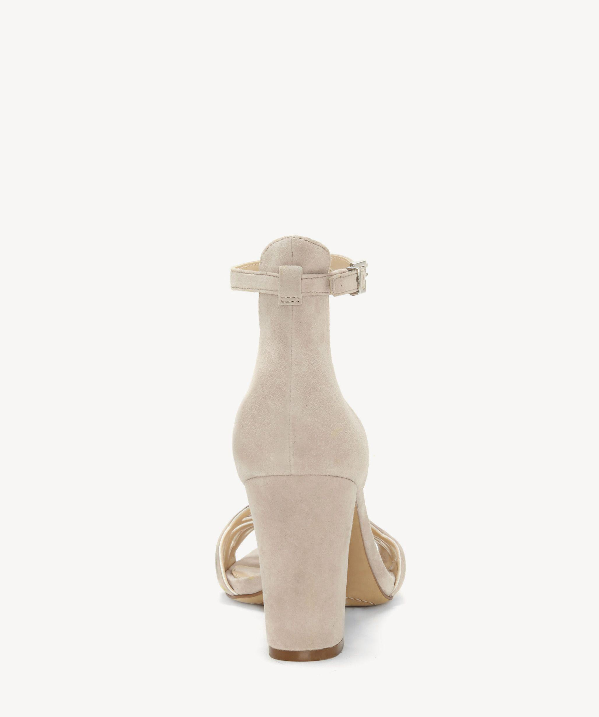 dd987583490 Lyst - Vince Camuto Caveena Ankle Strap Sandal in Natural