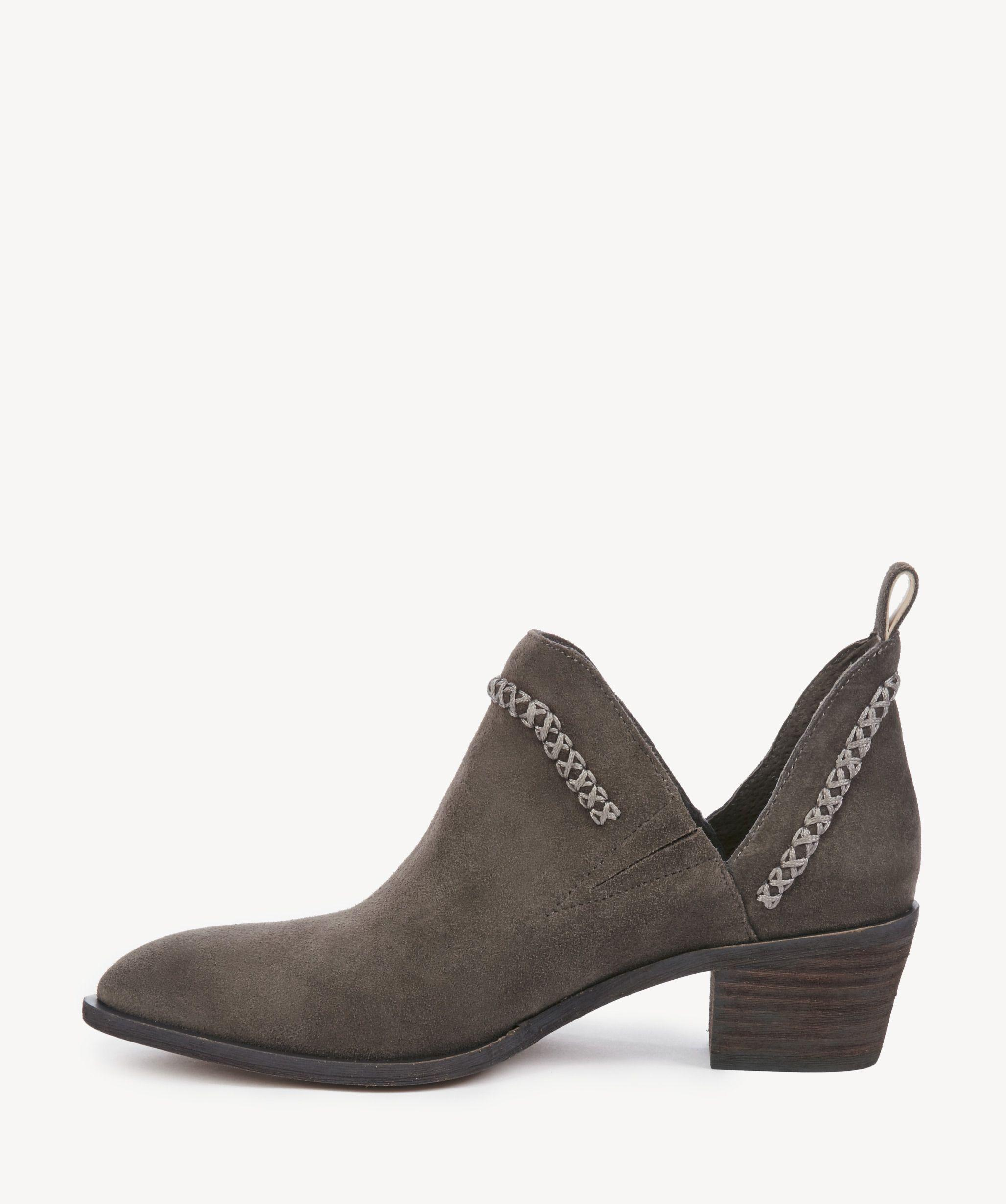 3b2625b5dc4 Lyst - Sole Society Nikkie Braided Bootie in Gray