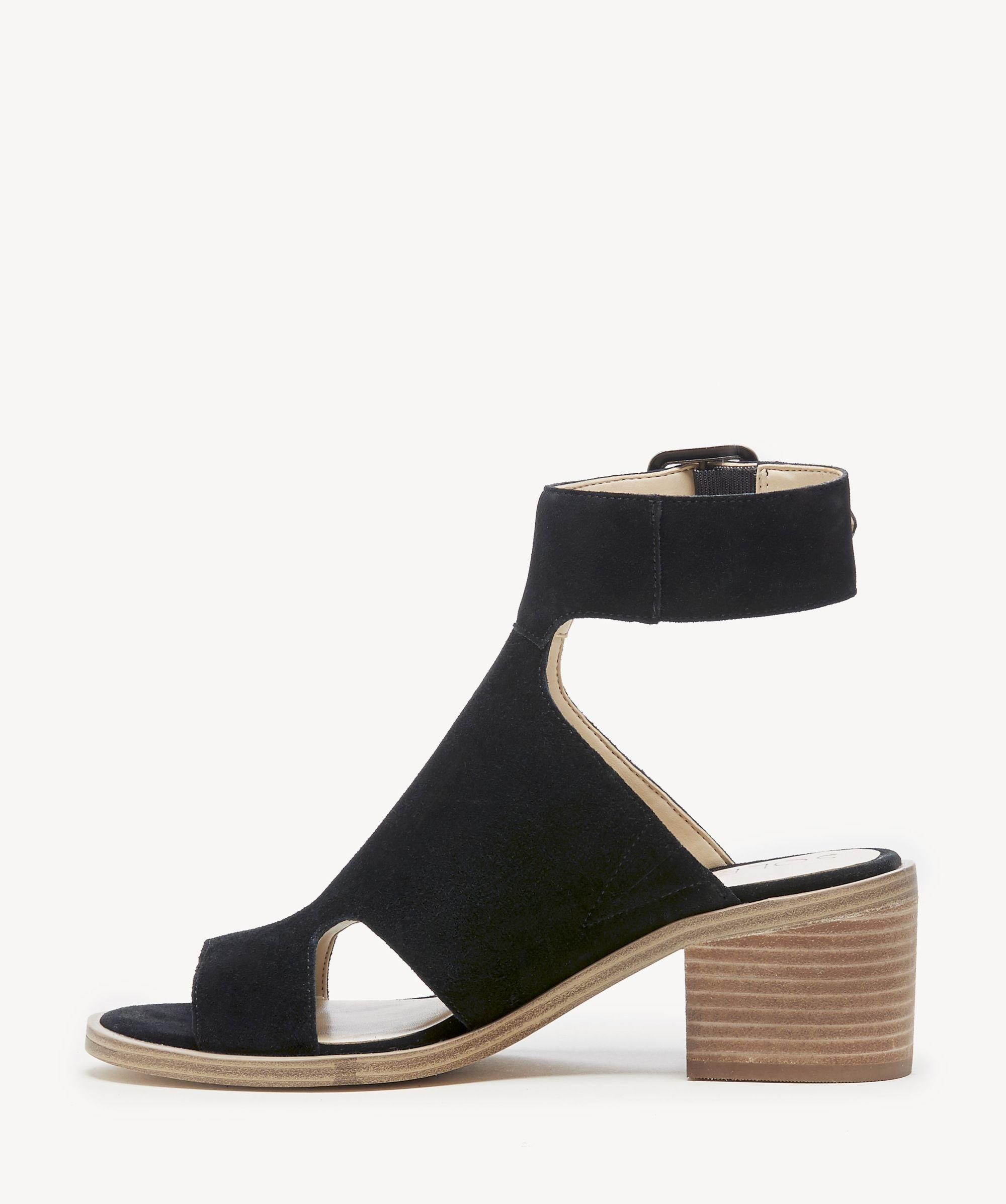 c59dc8d415d5b6 Lyst - Sole Society Tally Block Heel Sandal in Black