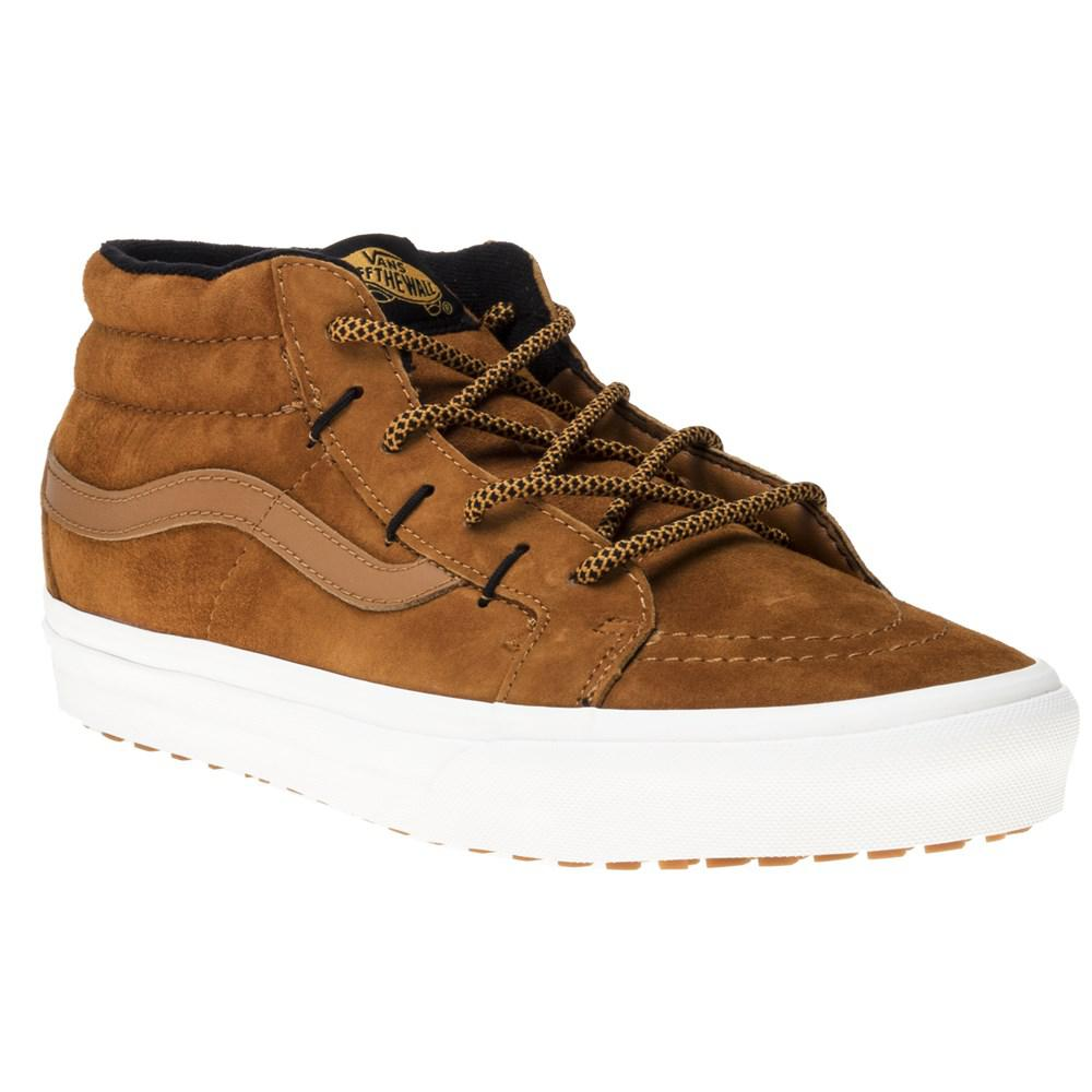 1b78b93b1a Vans Sk8 Mid Ghillie Mte Trainers in Brown for Men - Lyst