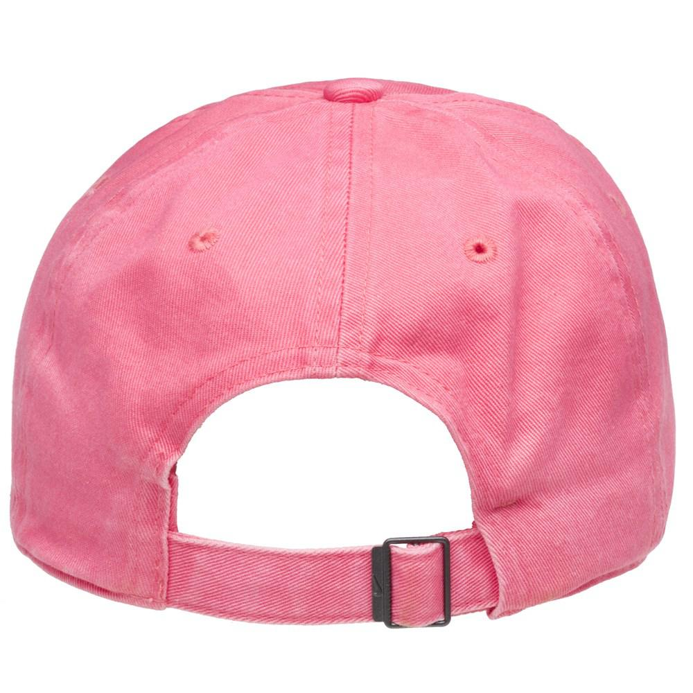 official photos 276f6 5ee67 ... promo code for nike heritage 86 embroidered cap in pink for men lyst  fa8a7 f9d8c