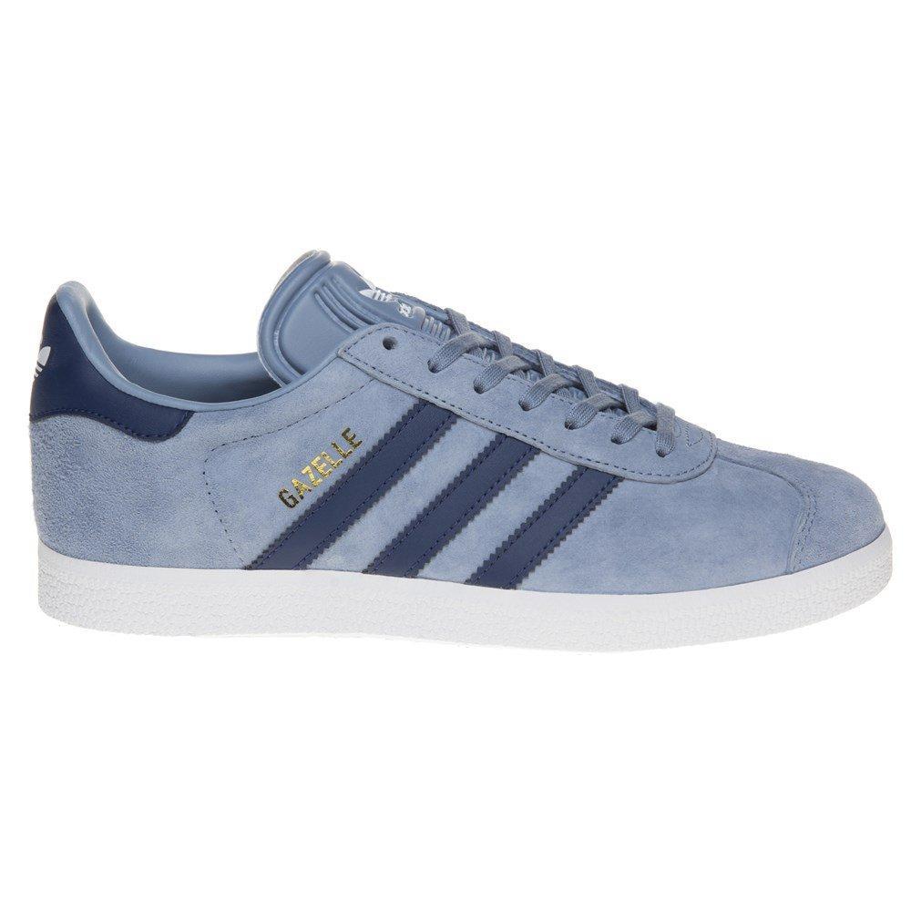 cheap for discount 8936b 98dd9 Adidas - Blue Gazelle Trainers - Lyst. View fullscreen
