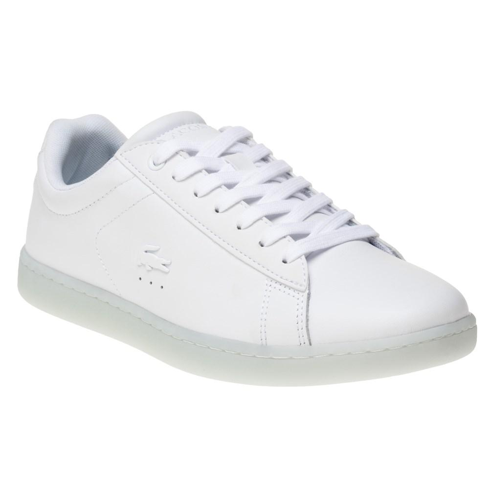 5f913a997 Lacoste Carnaby Evo Trainers in White - Lyst