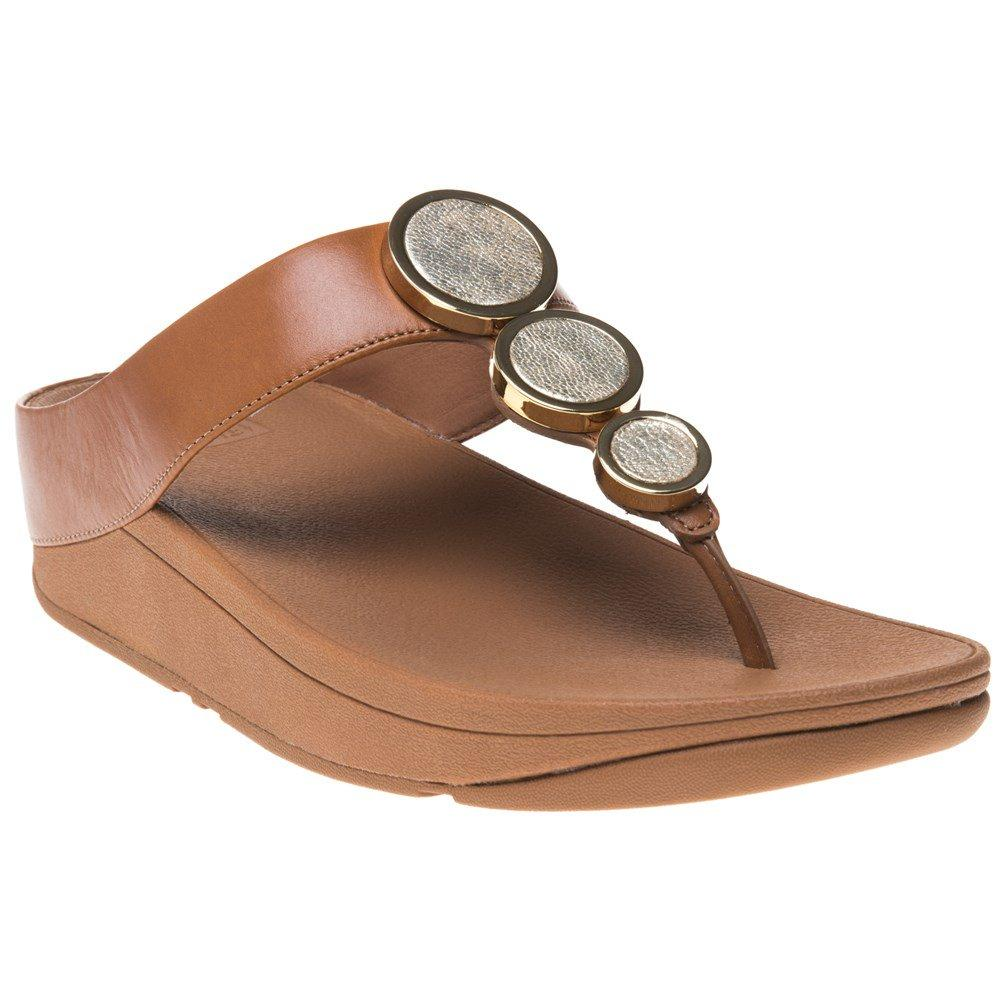 6fa93c57300a Fitflop Halo Toe Thong Sandals in Brown - Lyst