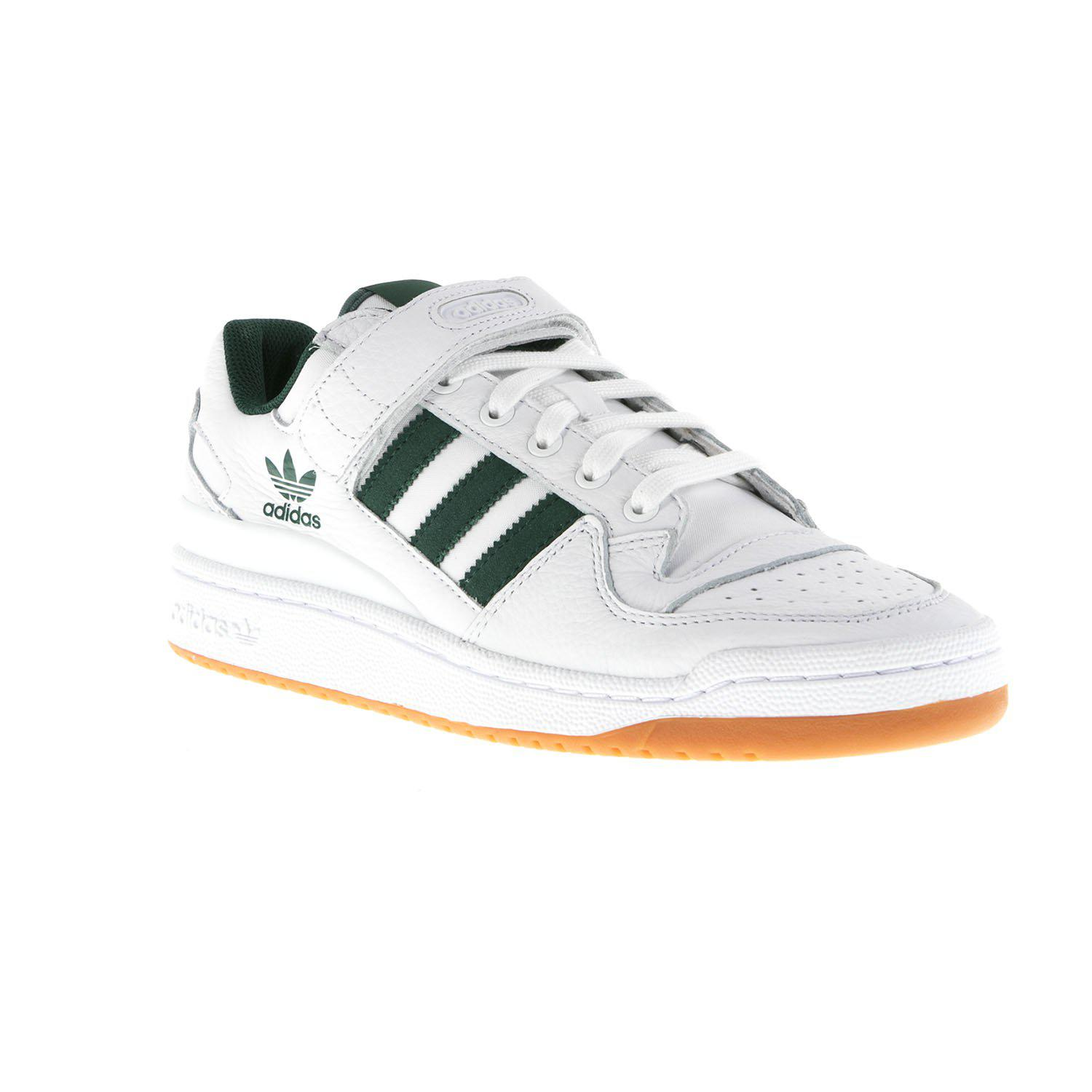 95ca4fcb72fc adidas Forum Low Top Trainers in White for Men - Lyst