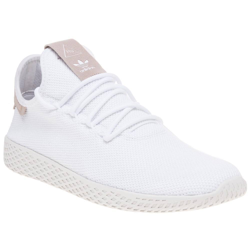 665d28d8ab1 adidas Pharrell Williams Tennis Hu Trainers in White for Men - Lyst