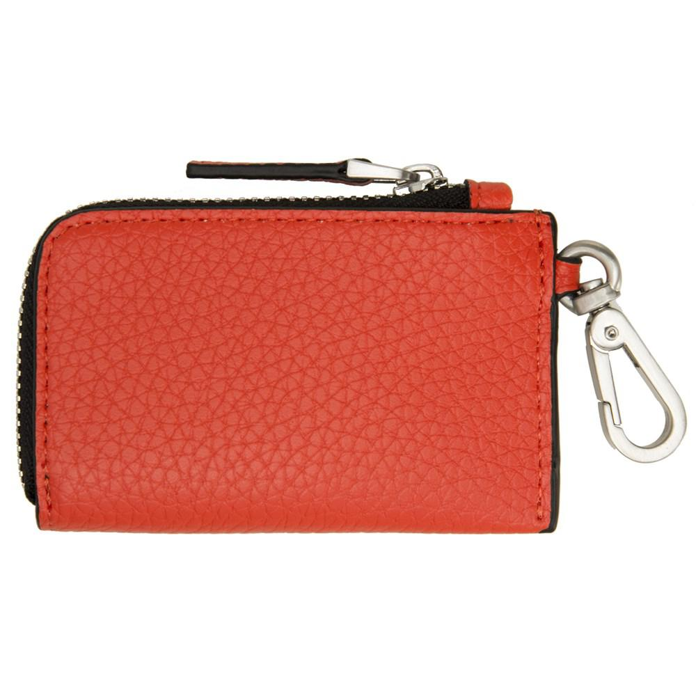 Calvin Klein Around Monedero Zip Naranja Bolsillo wqRF4CxW
