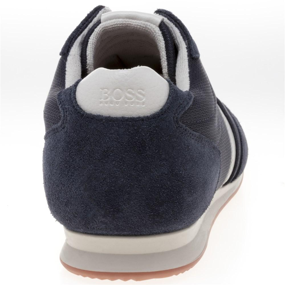 BOSS Orange - Blue Orland lowp sdny1 Trainers for Men - Lyst. View  fullscreen 38bcb85dd1b