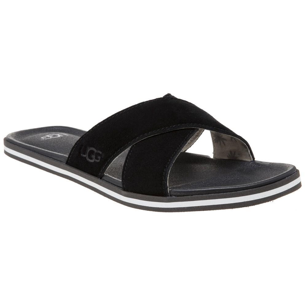 fa302791dd5f UGG Ithan Sandals in Black for Men - Lyst