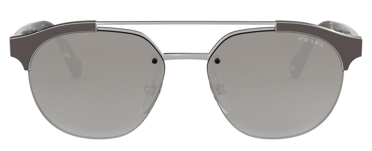 bd22b2bea7de Prada - Gray Men 51vs Navigator Sunglasses for Men - Lyst. View fullscreen