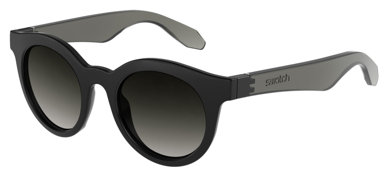 81f65011c287 Lyst - Swatch 01 s Round Sunglasses in Black