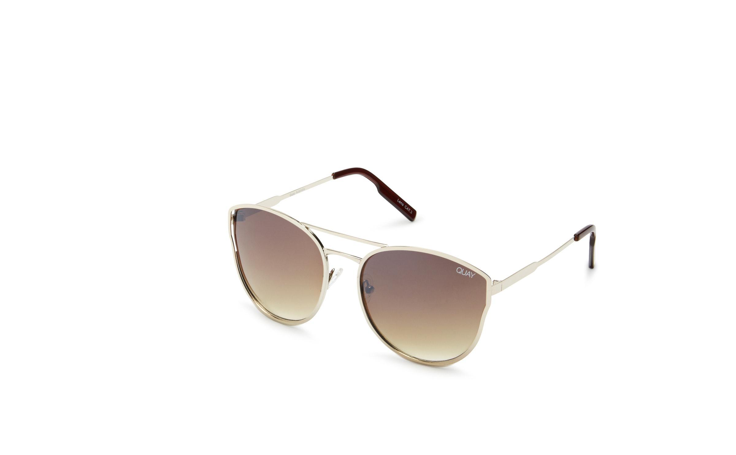 d9d0574bb9 Lyst - Quay Cherry Bomb Cat Eye Sunglasses in Brown