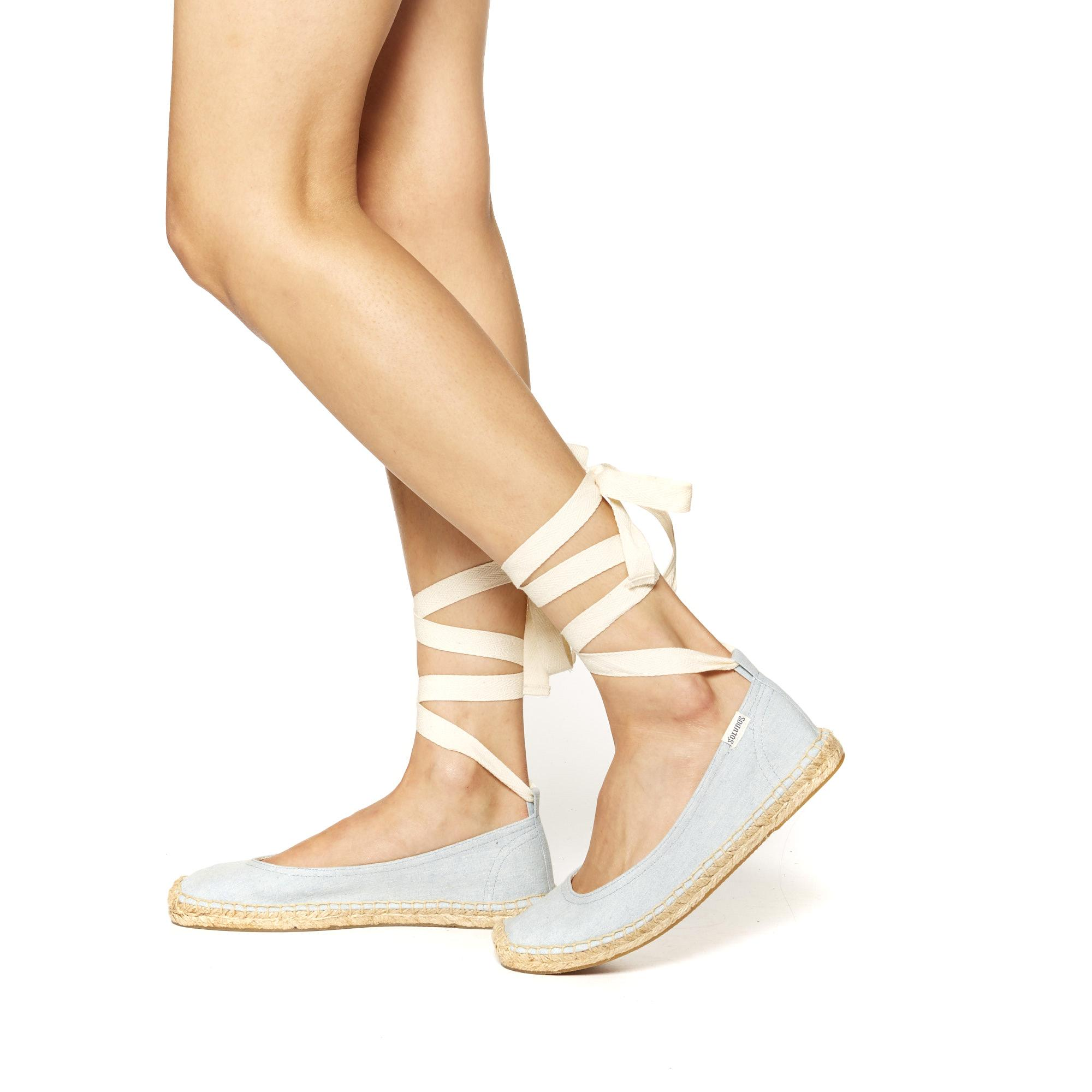 Soludos Ballet Tie Up Flat