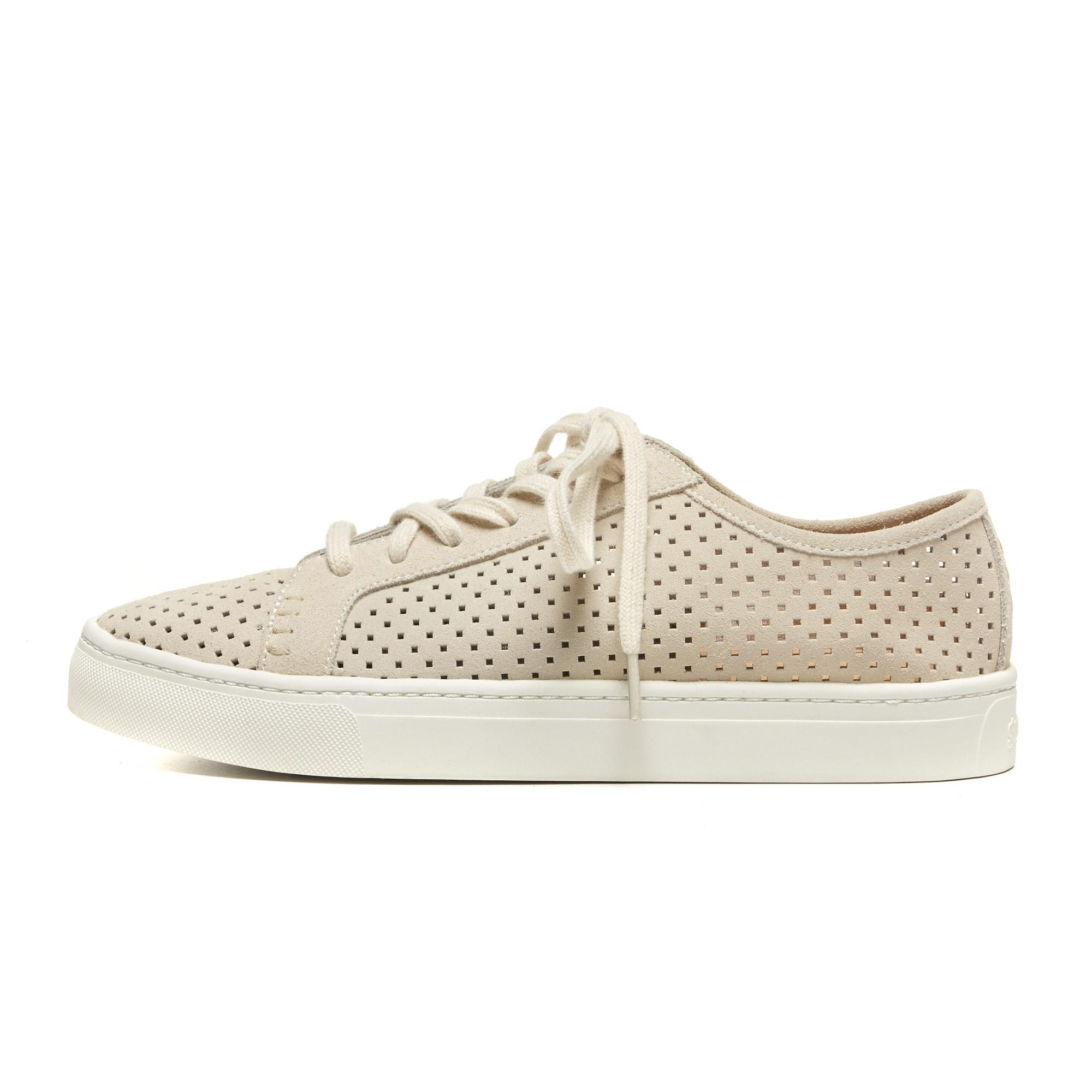 Soludos Perforated Suede Tennis Sneaker C6spn5E