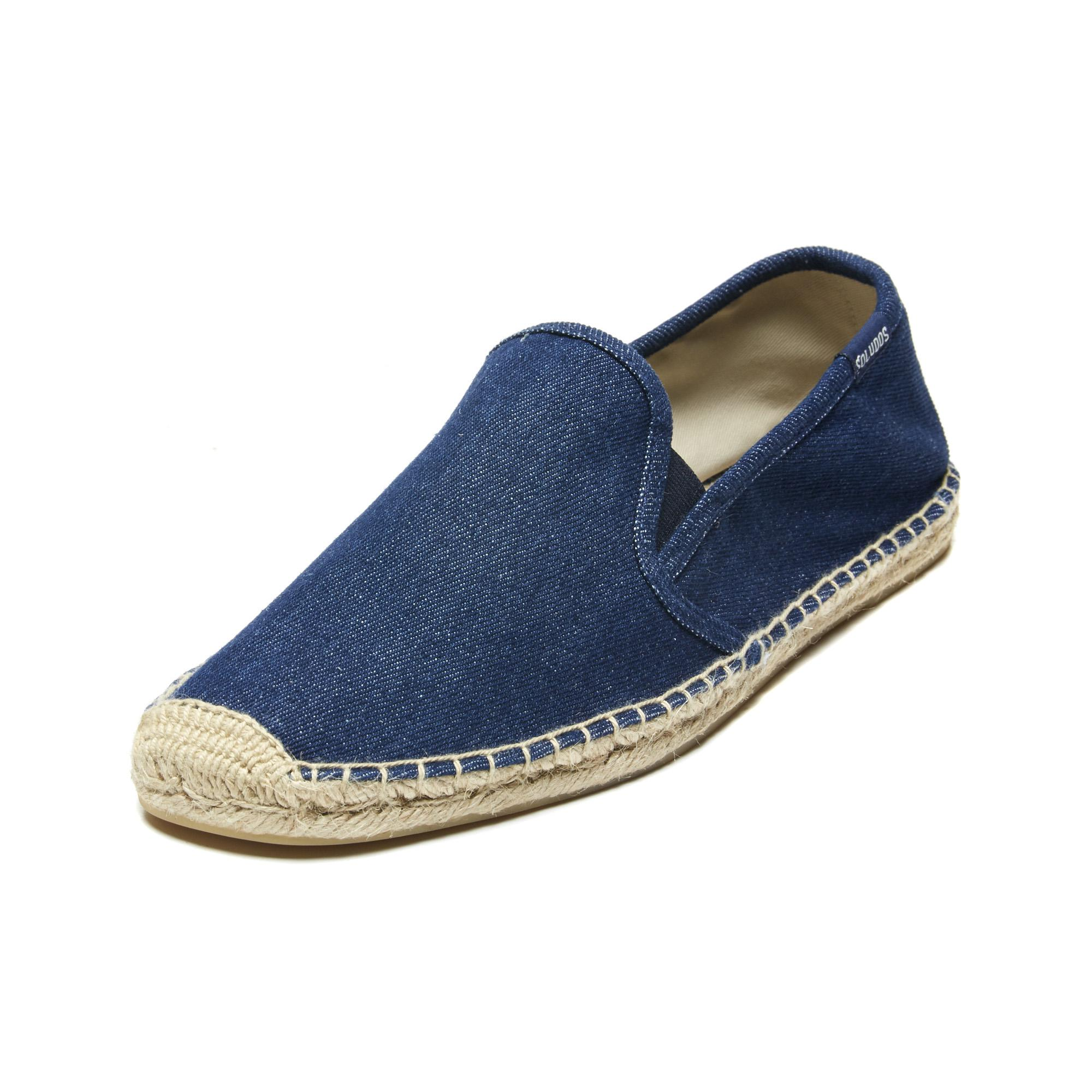 510a6bb18256 Lyst - Soludos Men s Casual Classic Smoking Slipper in Blue for Men