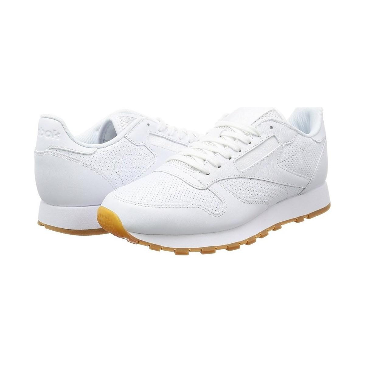 Reebok - Classic Leather Pg Men s Shoes (trainers) In White for Men - Lyst.  View fullscreen 9081a5382