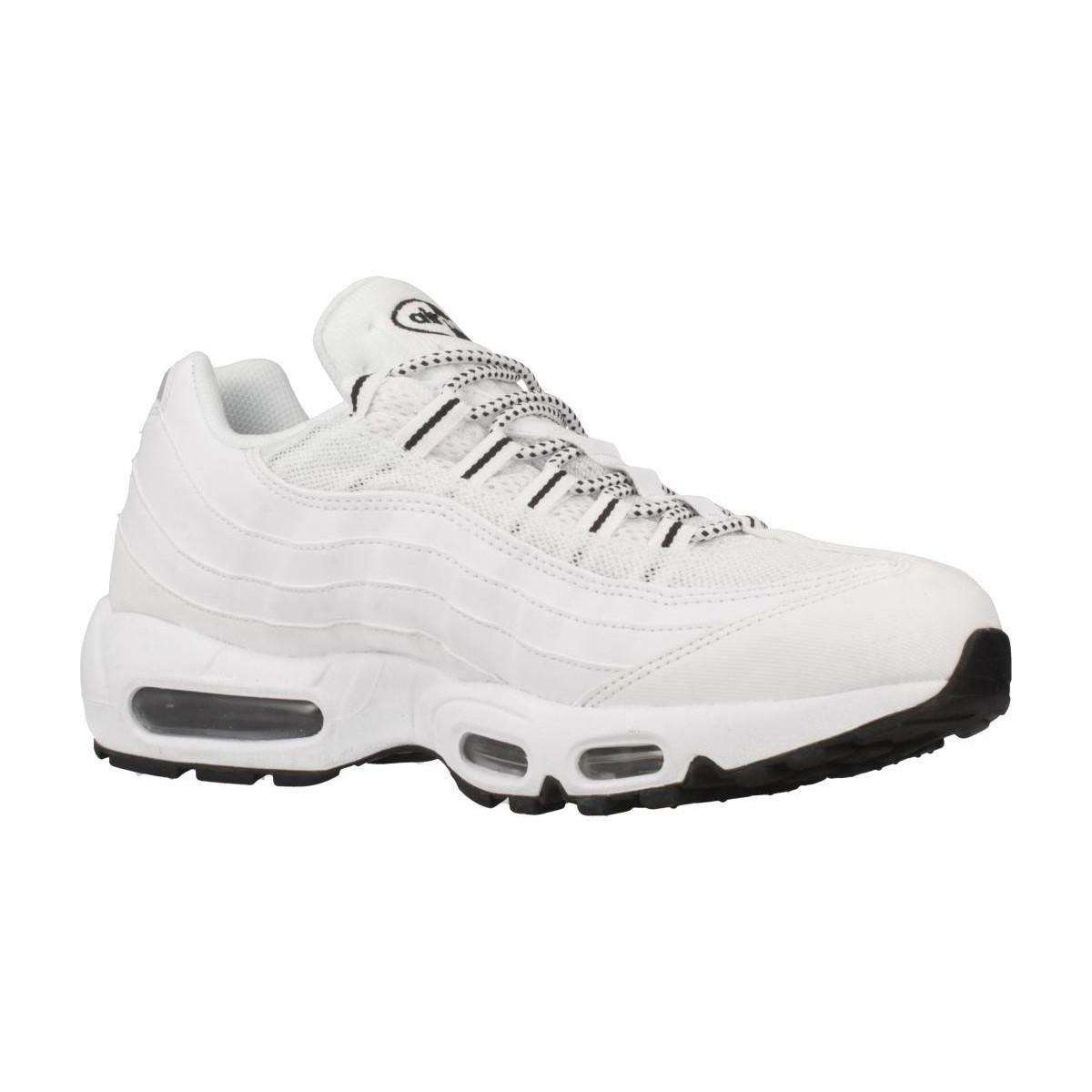 designer fashion 77a82 6d405 Nike Air Max 95 Men s Shoes (trainers) In White in White for Men - Lyst