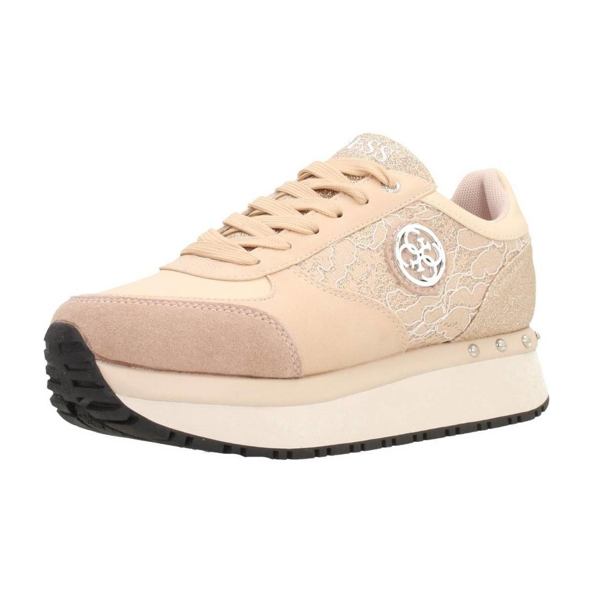 Lyst - Chaussures TIFFANY Guess en coloris Rose f522a5c390bd