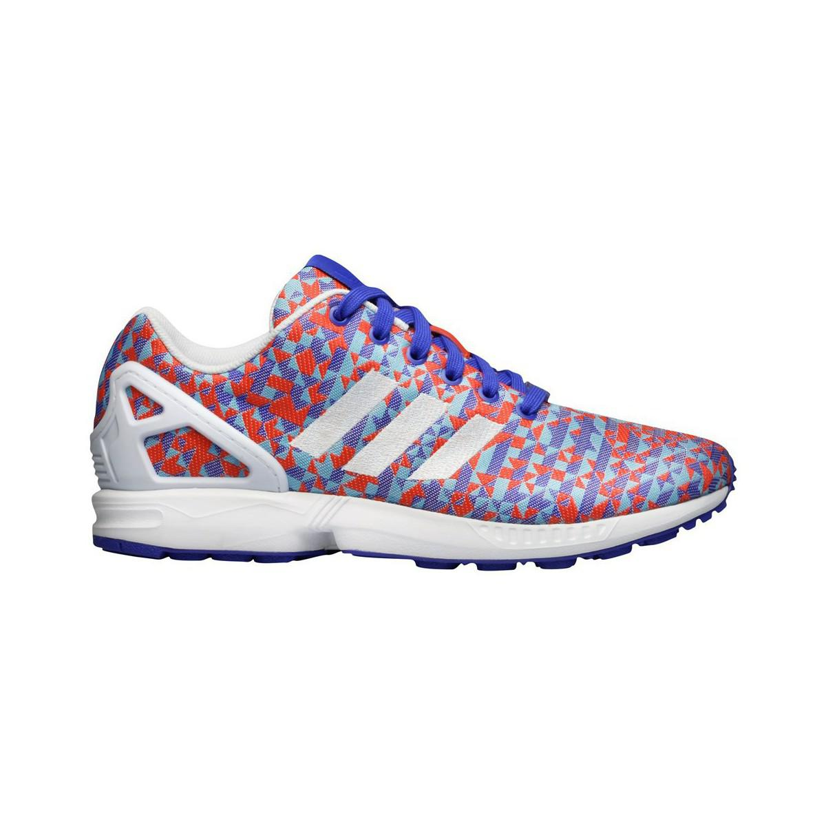 5ffc9543d193f Adidas Zx Flux Weave Women s Shoes (trainers) In White in White - Lyst