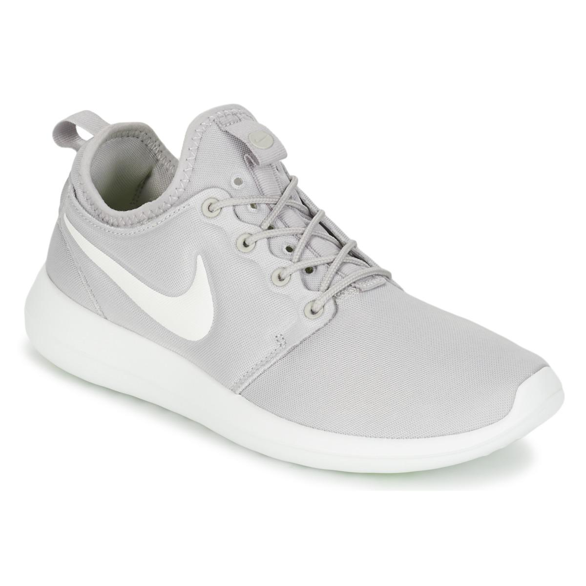 0354374a3c95 Nike Roshe Two W Women s Shoes (trainers) In Grey in Gray - Lyst