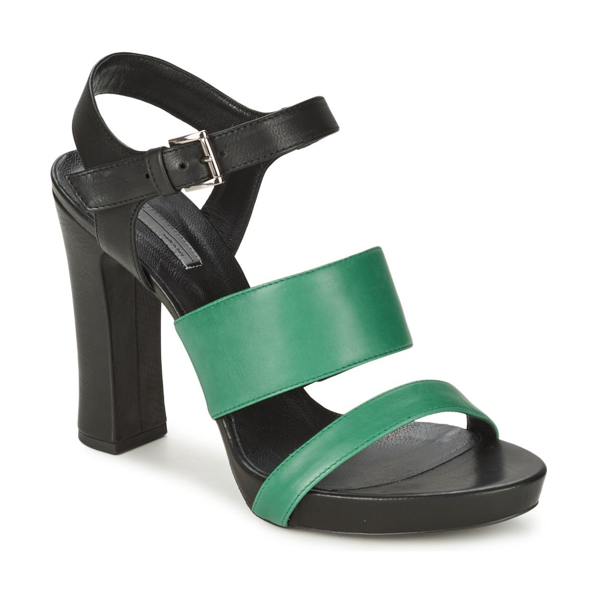 c75a506d3da2 Vic Matié Clooney Women s Sandals In Black in Black - Lyst