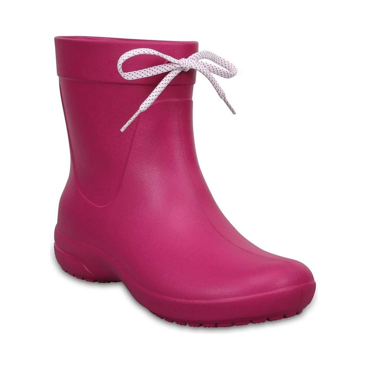 Crocs FREESAIL CHELSEA - Wellies - berry GYaNNV8XV