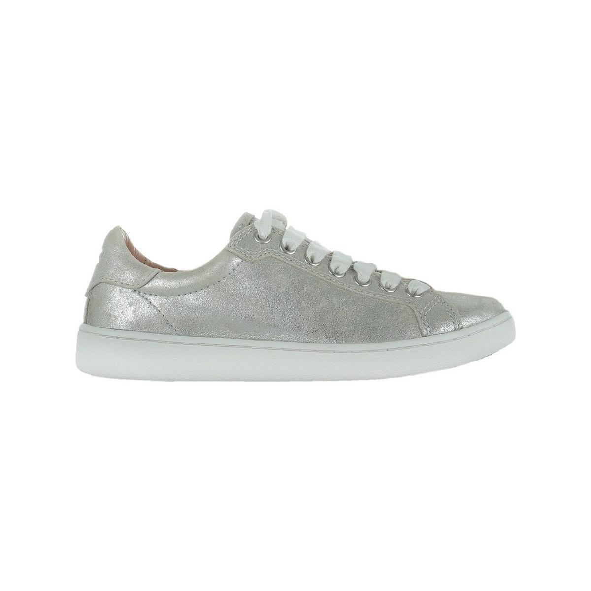 0c7b9aa8d70 UGG Milo Stardust Women's Shoes (trainers) In Silver in Metallic - Lyst