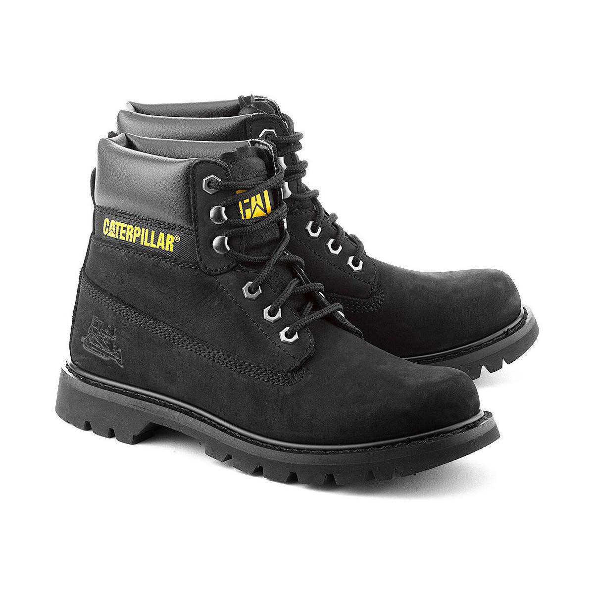For Caterpillar Men Boots Colorado Mid In Black Lyst Men's UpwUYqB