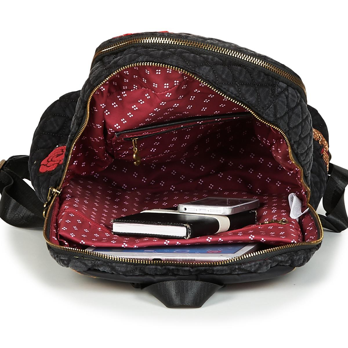 c9d29edbdfc6 Desigual Bols Always Milan Backpack in Black for Men - Lyst