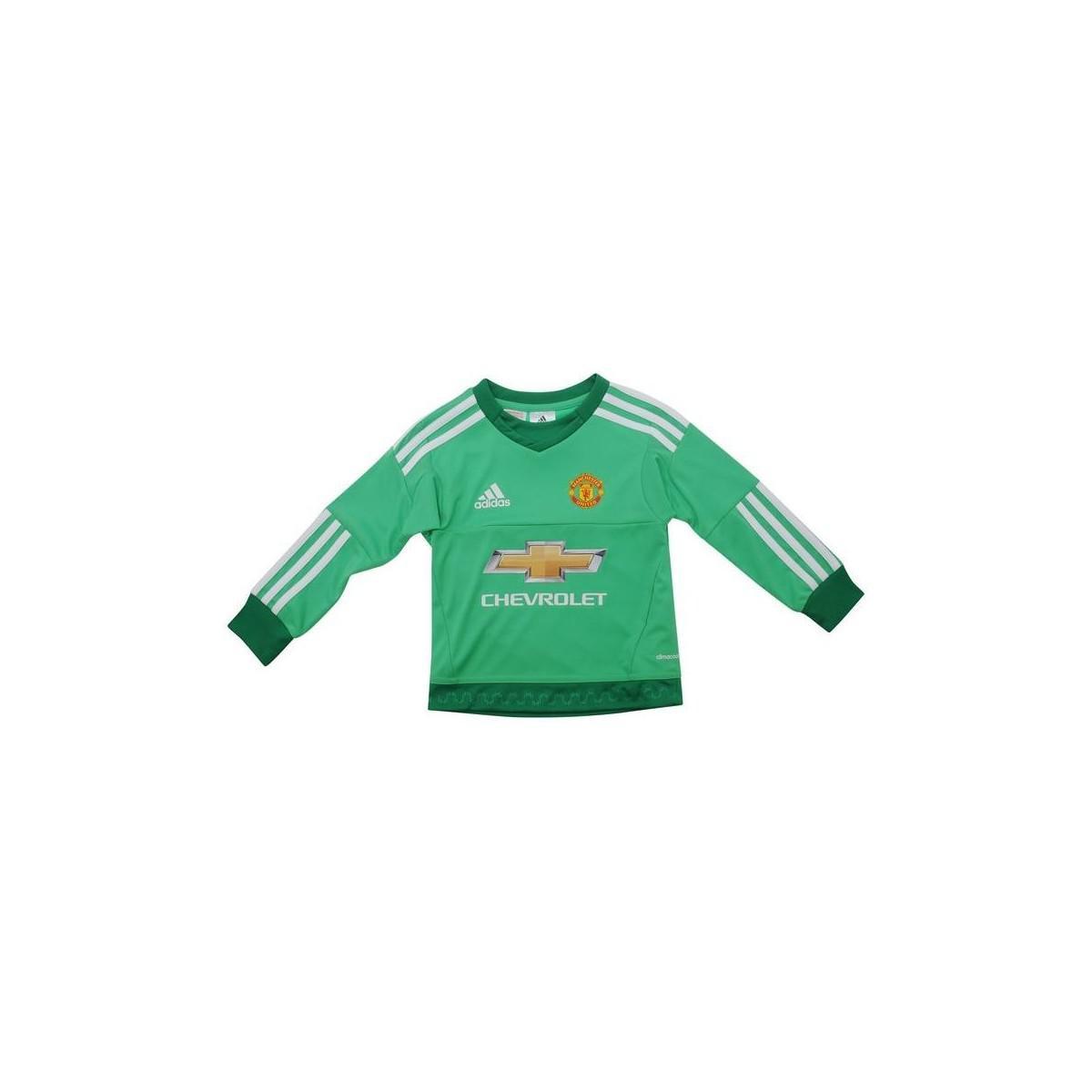 adidas 2015-16 Manchester United Home Goalkeeper Mini Kit (de Gea 1 ... f5a08aacc