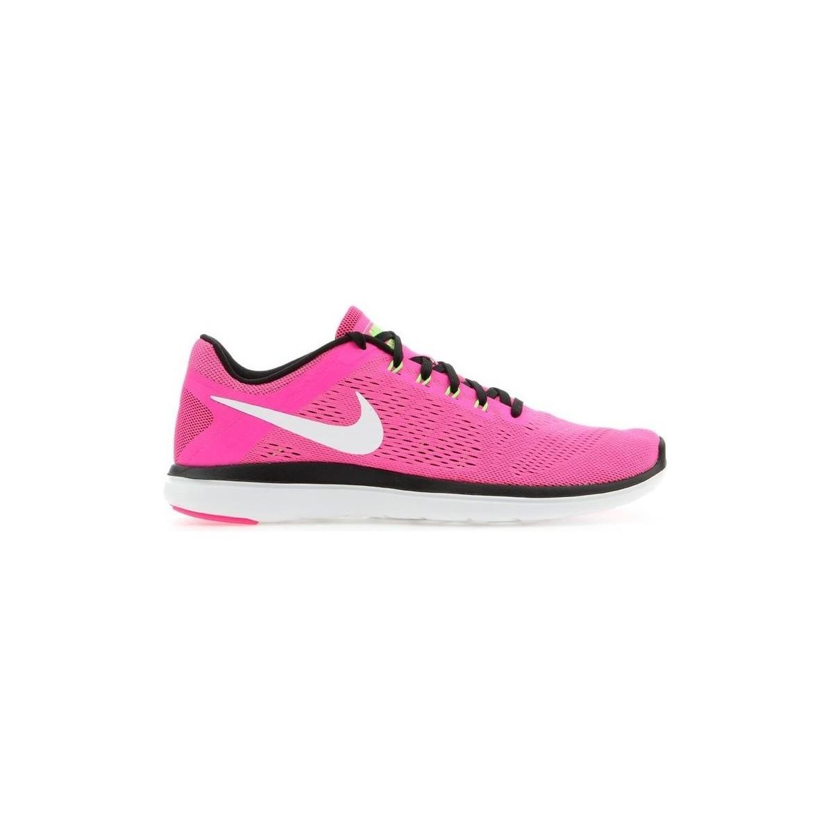 c62f5ec503f Nike Wmns Flex 2016 Rn 830751-600 Women s Shoes (trainers) In Pink ...