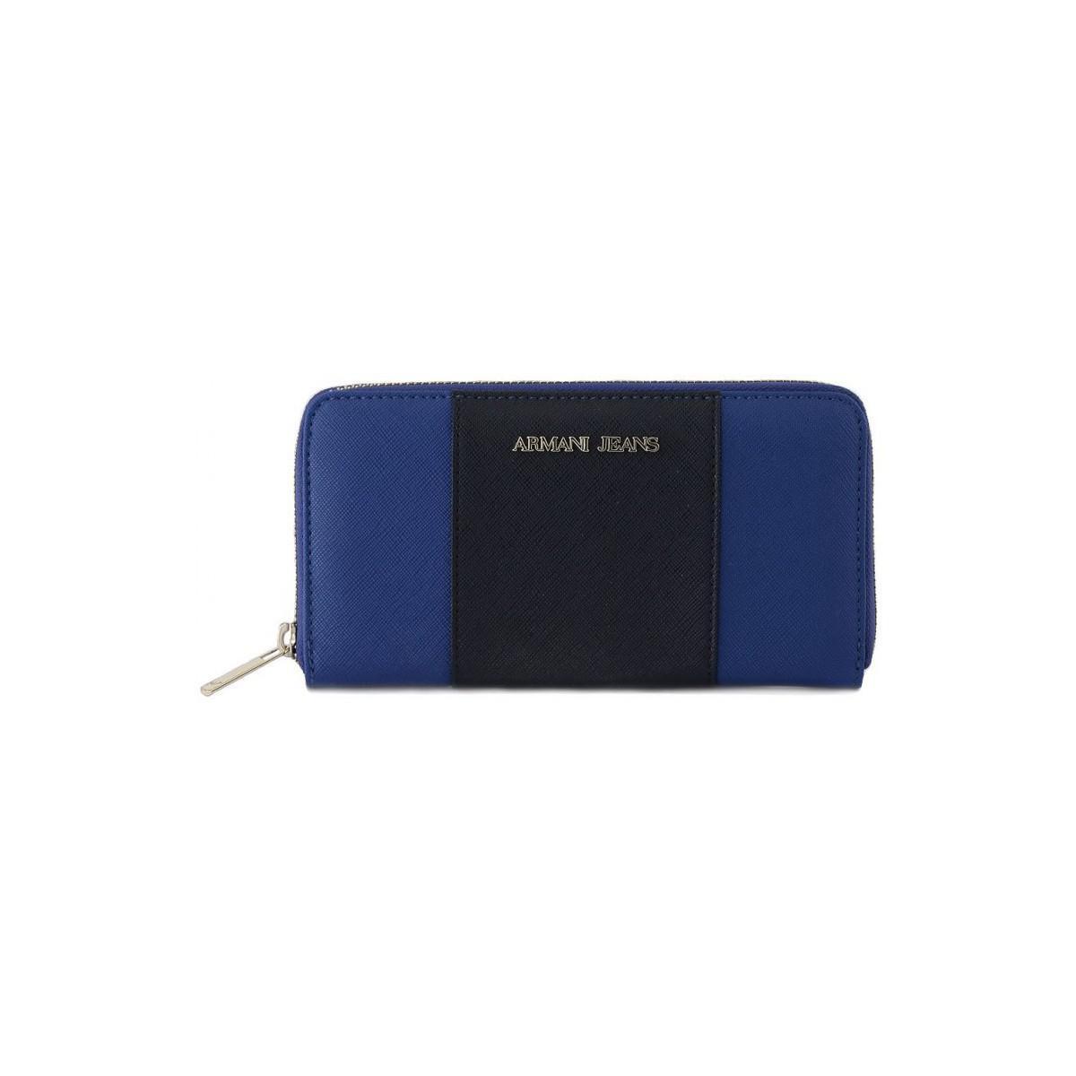 ef0b19e95 Armani Jeans Giorgio Armani P.foglio Blue Women's Purse Wallet In ...