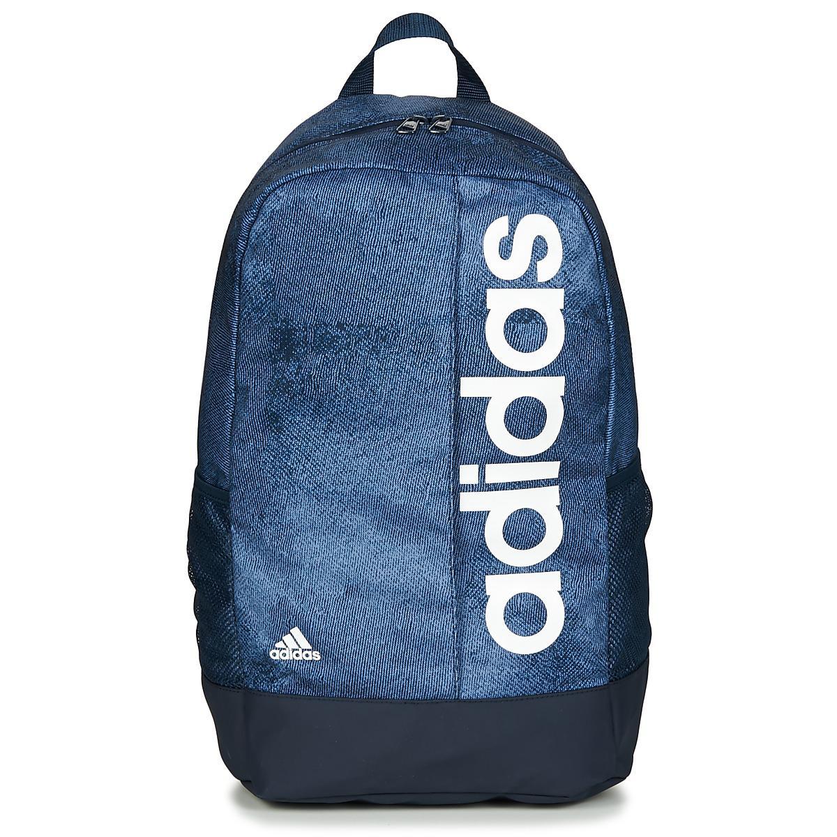 adidas Lin Per Bpck Backpack in Blue for Men - Lyst 78715faeda2f7