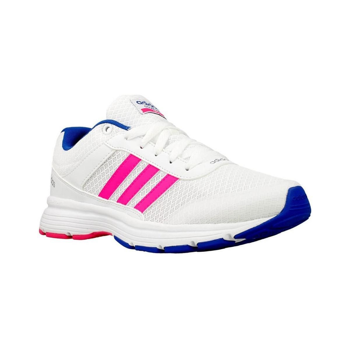 Adidas cloudfoam vs ciudad W zapatos de mujer (entrenadores) de rosa en rosa