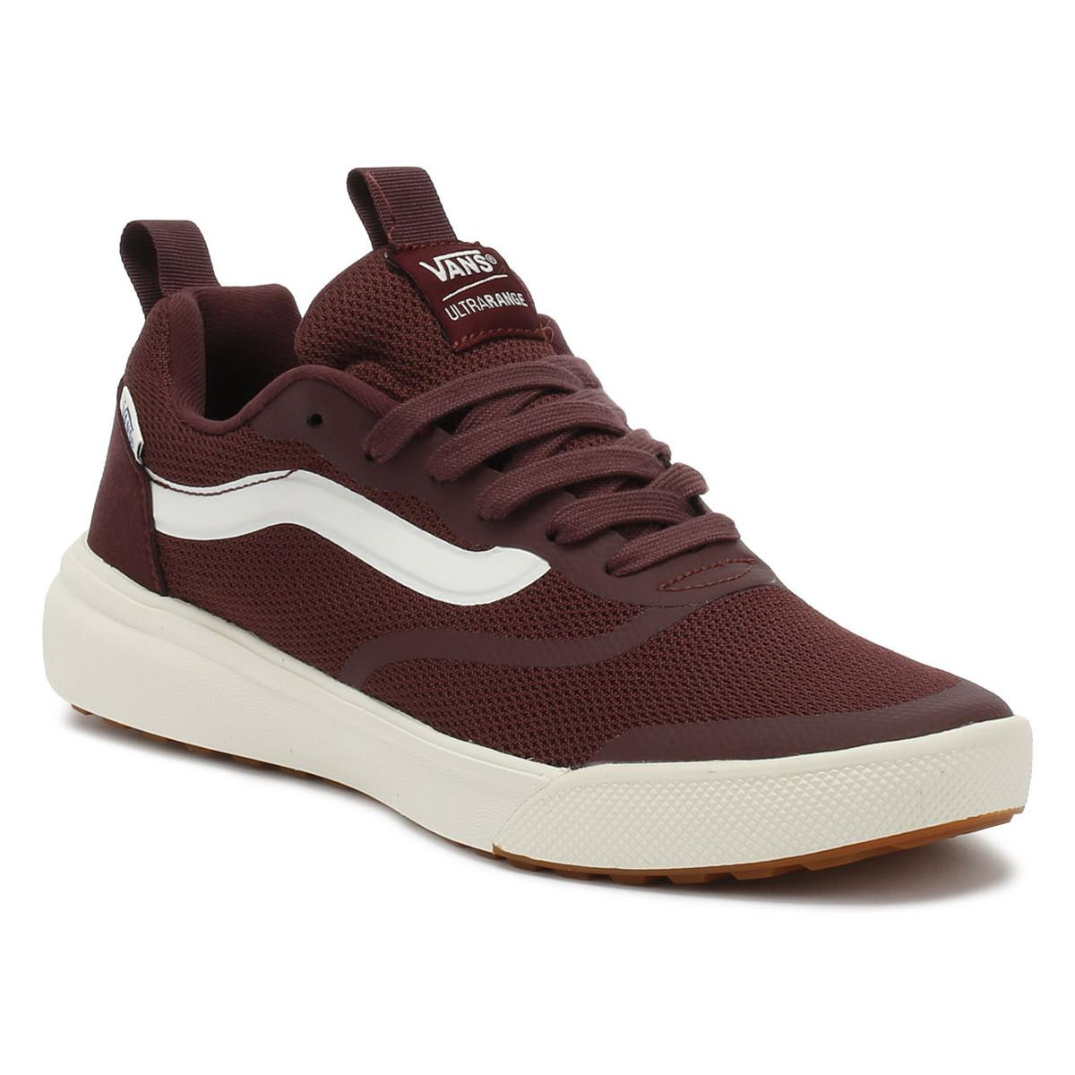 Vans. Catawba Grape Burgundy Ultrarange Trainers Women s Shoes (trainers)  In Red 26cbae86f