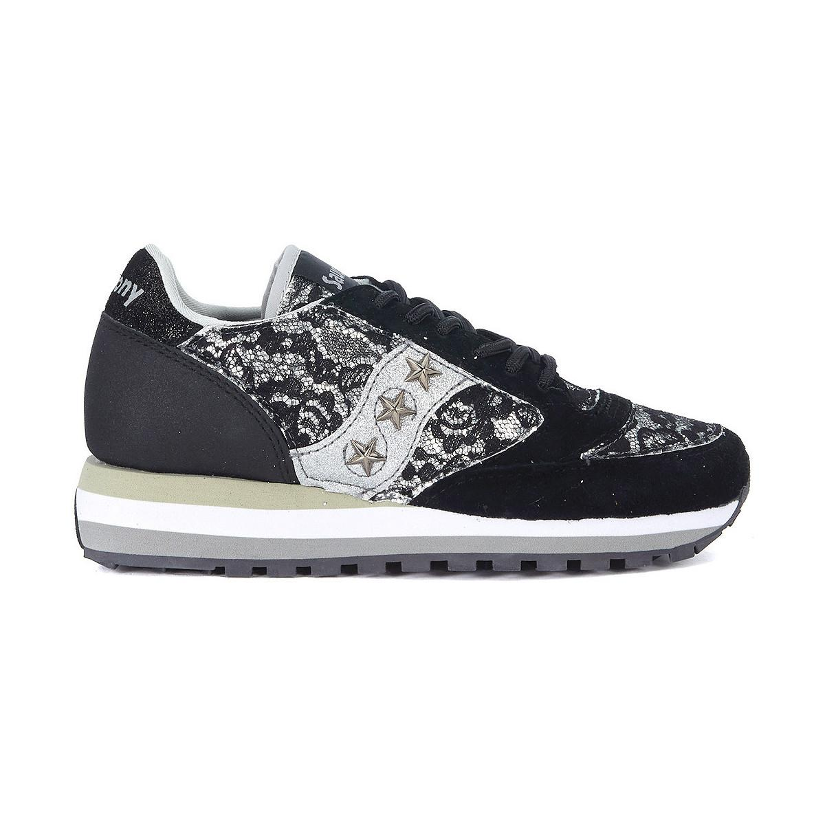 Saucony. Jazz Triple Black Suede And Lace Trainer Limited Edition Women s  Shoes ... 5c0778ce3b3