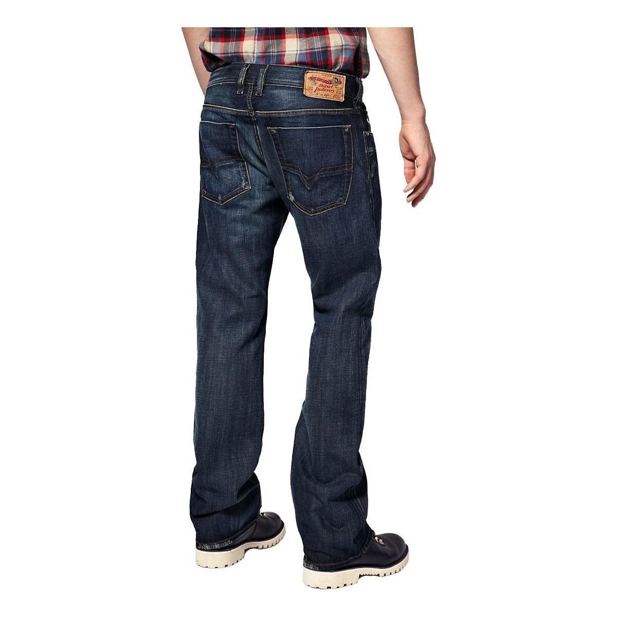 9072af10a77 DIESEL - Men's Jeans Zatiny 882w - Regular Bootcut Men's In Blue in ...
