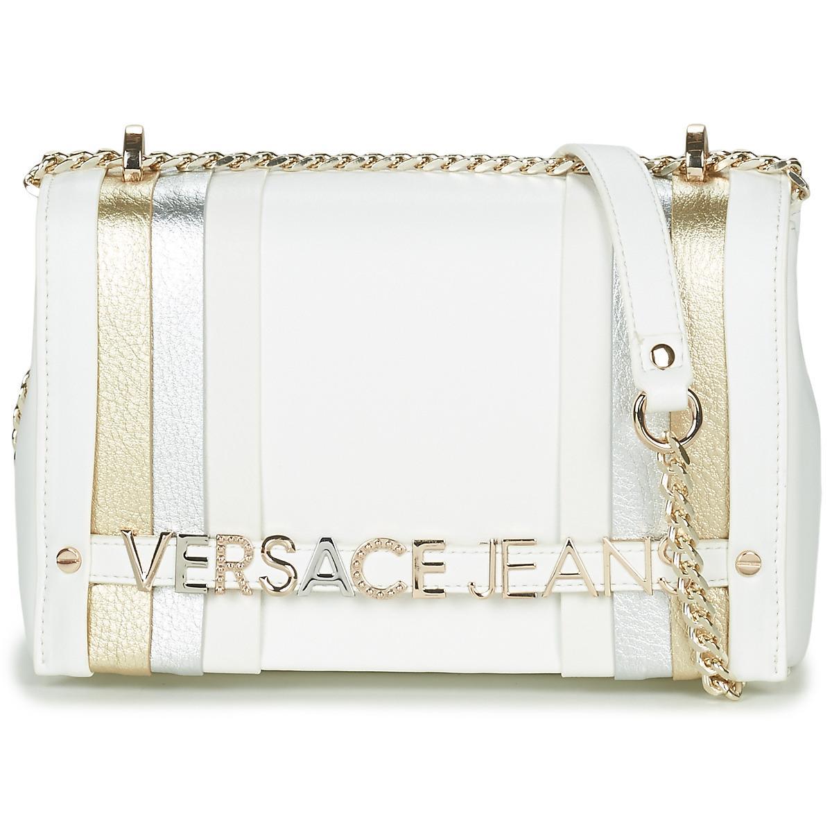 Versace Jeans - White E1VTBBL1 femmes Sac à main en blanc for Men - Lyst.  Afficher en plein écran 917ebf044ee