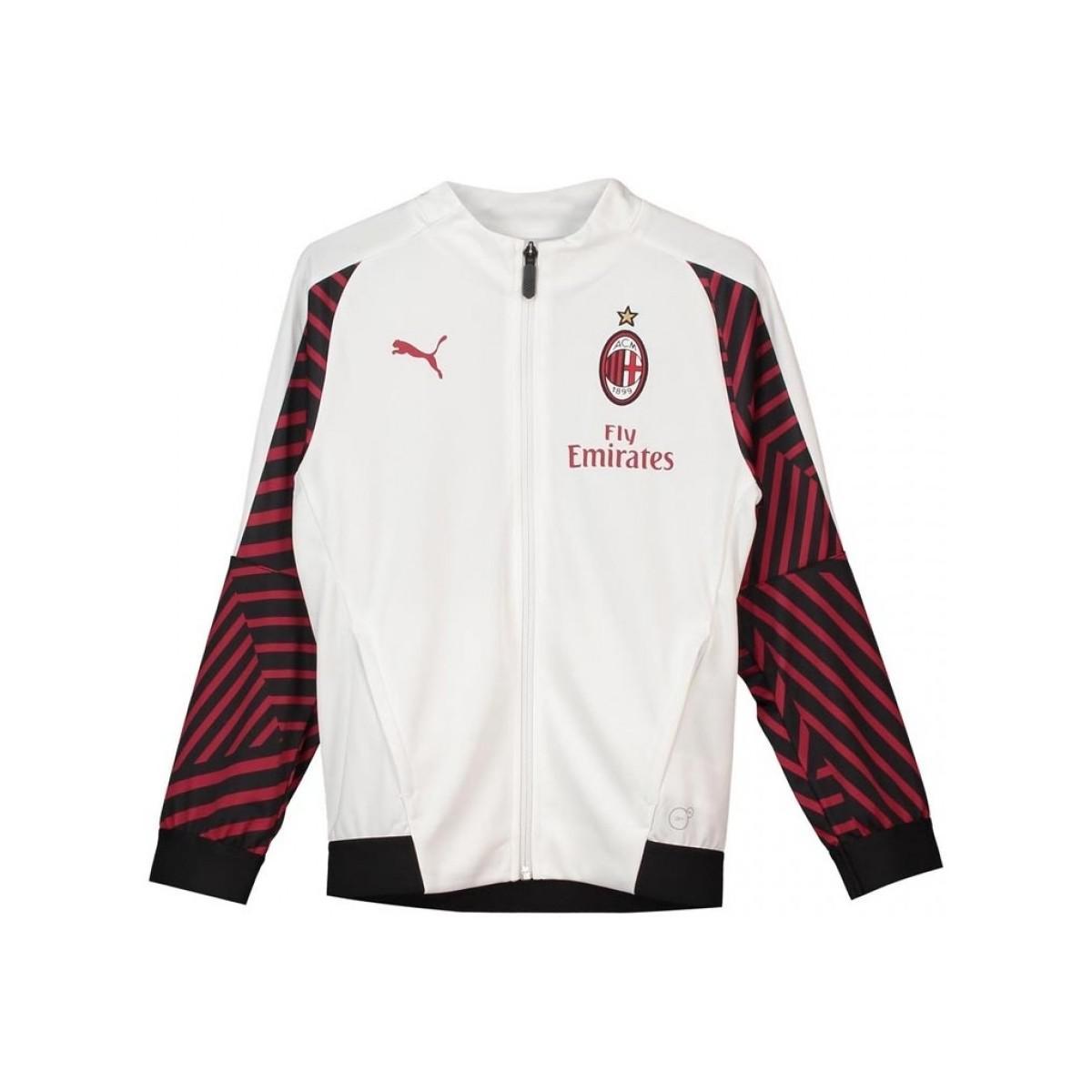 c38edbbdba4 adidas 2018-2019 Ac Milan Stadium Training Jacket - Kids Men s ...