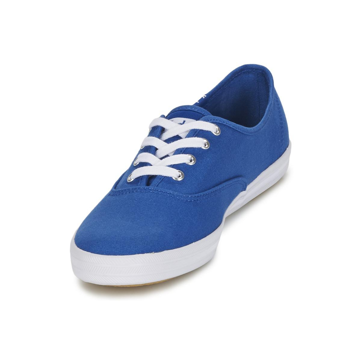 5fe6b030c Keds Champion Seasonal Solids Women s Shoes (trainers) In Blue in ...