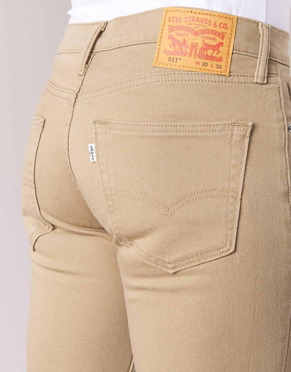 Mens Straight Leg Stretch Jeans