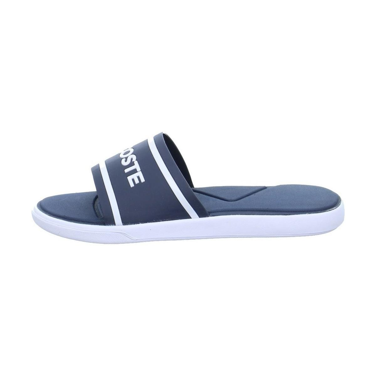 13d5d4484dc2 Lacoste L 30 Slide Men s Mules   Casual Shoes In Blue in Blue for ...