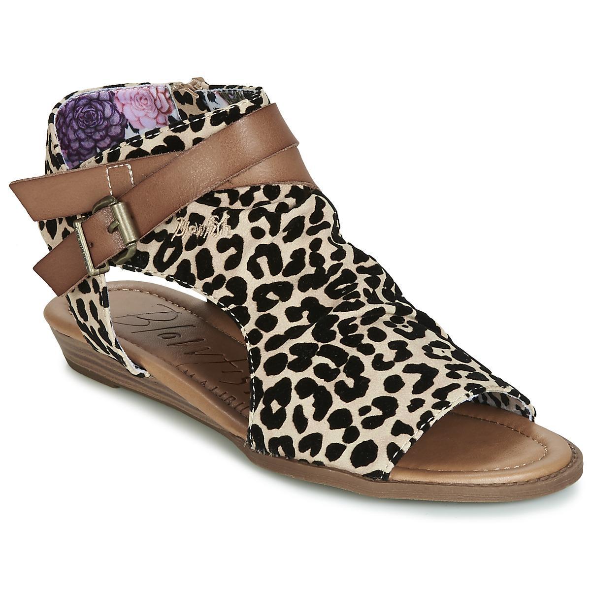 8602e48276f Blowfish Malibu Balla Women s Sandals In Brown in Brown - Lyst